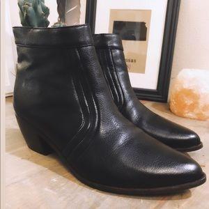 """Matisse """"Cece"""" Black Heel Ankle Bootie"""
